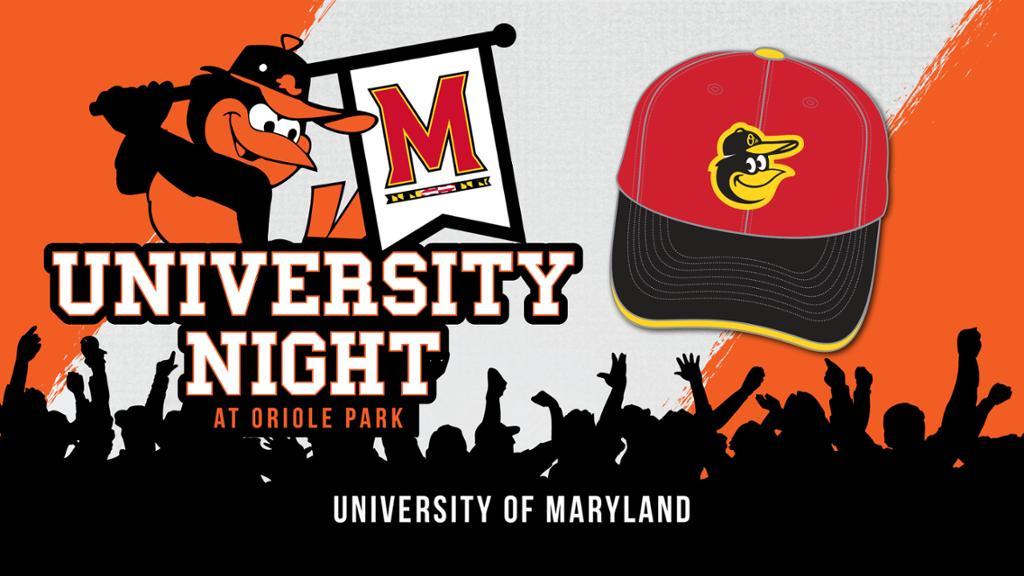 University of Maryland Night at Oriole Park