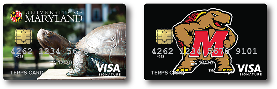 The official credit card of University of Maryland Alumni & Fans
