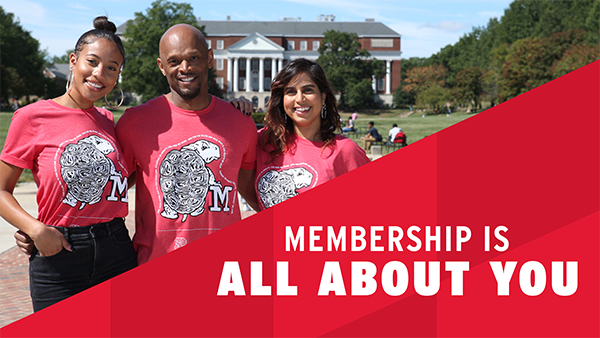 Membership Is All About You