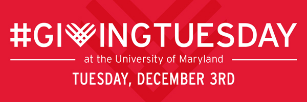 Hangtag-givingTuesday at the University of Maryland Tuesday December 3rd, 2019