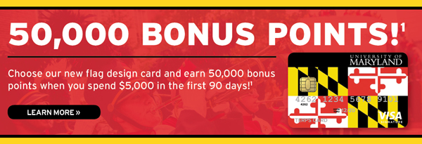 Click for more details about choosing our new flag design card and earning 50000 bonus points when you spend $5000 in the first 90 days. Conditions apply.