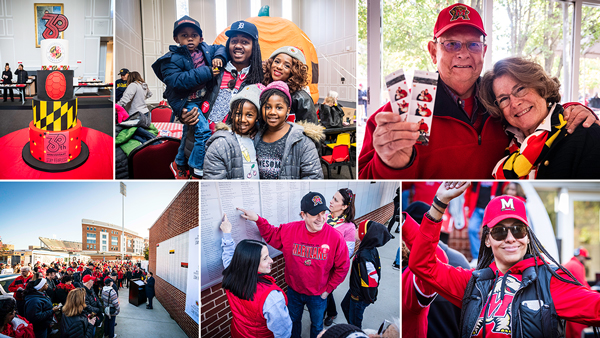 Featured Gallery of photography from the University of Maryland Homecoming events