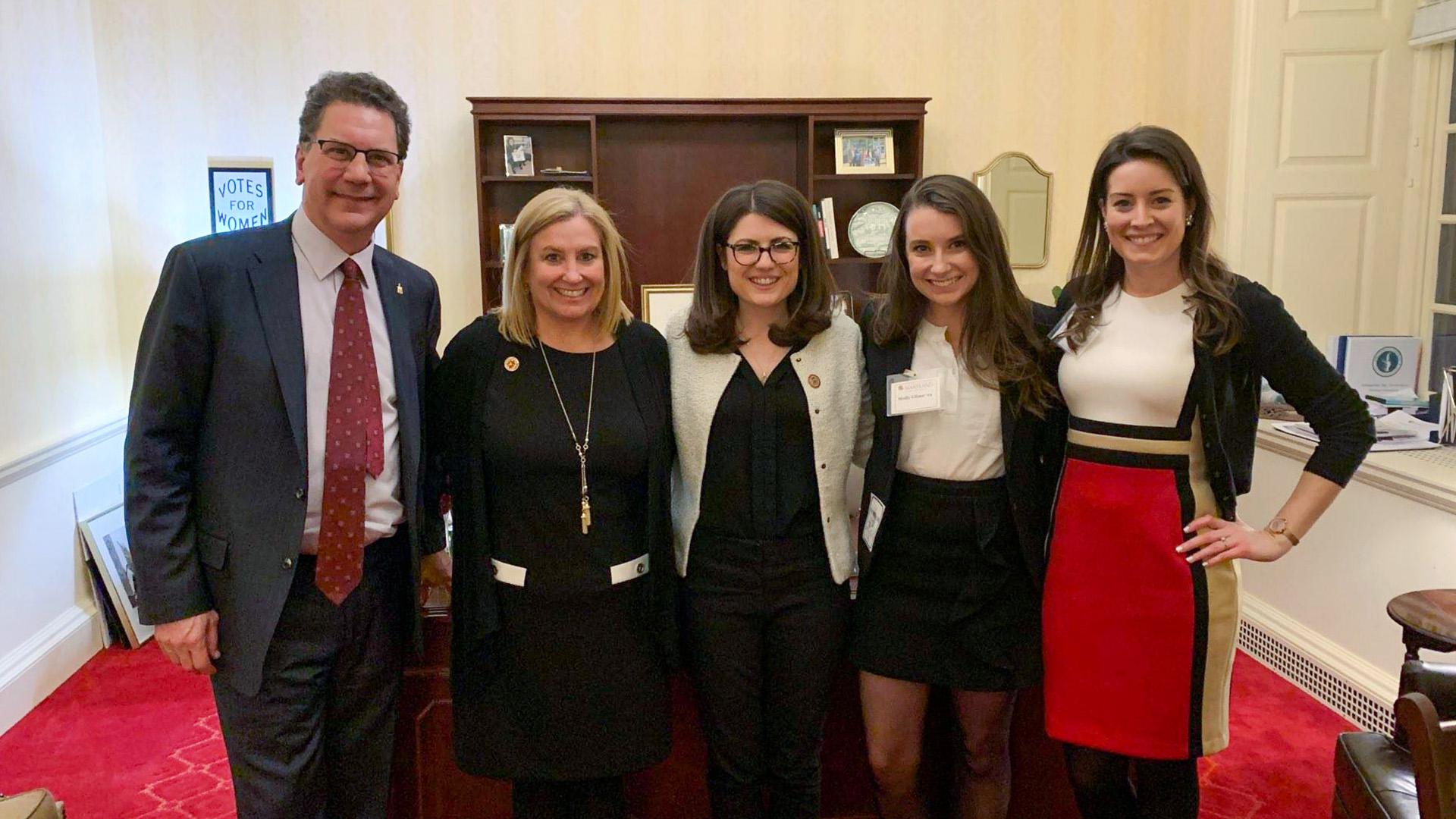 Alumni Association Team Members In Annapolis