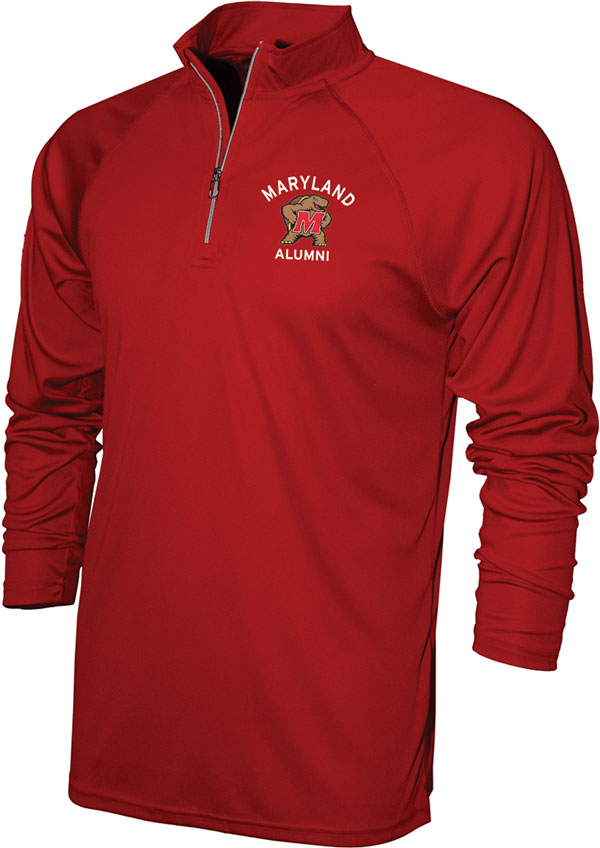 Maryland Alumni quarter-zip pullover
