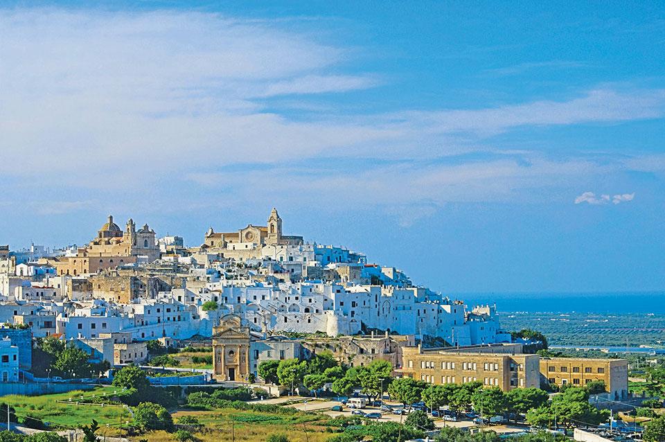 Beauty shot of Italy's Apulia region