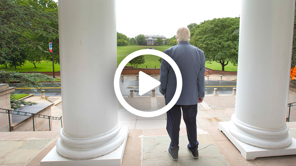 Video: Announcing the Thomas V. Miller, Jr. Administration Building