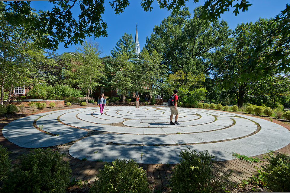 Memorial Chapel Garden