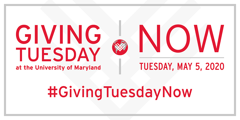 Giving Tuesday Now at the University of Maryland