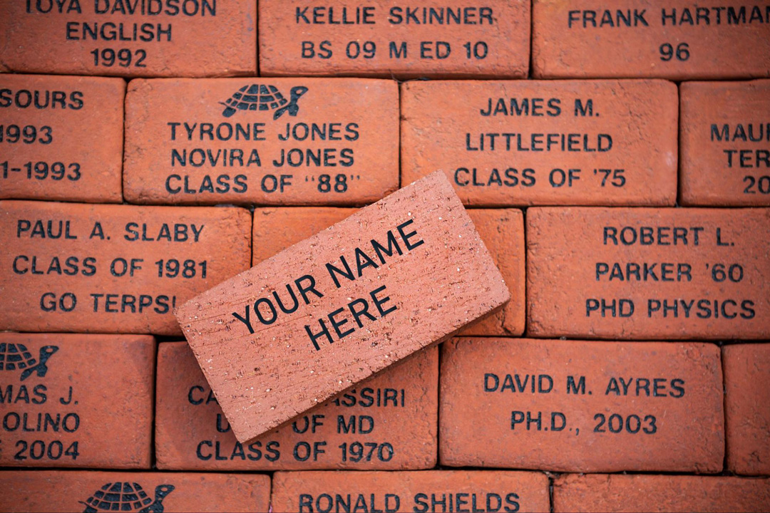 Your Name Here   Buy Your Brick