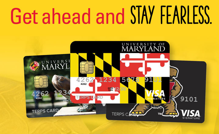 Terps Card | Get ahead and STAY FEARLESS