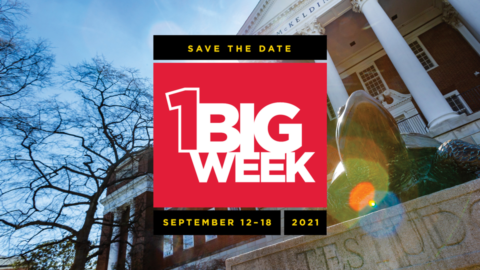 Save The Date: One Big Week | September 12-18, 2021