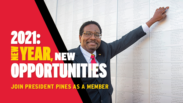 2021: New Year, New Opportunities | Join President Pines As A Member