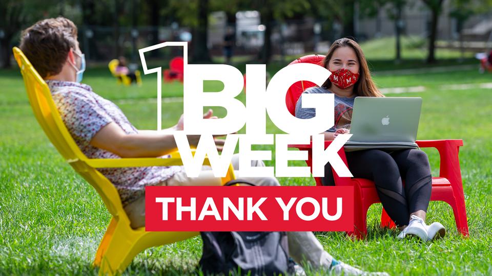 1 Big Week   Thank You
