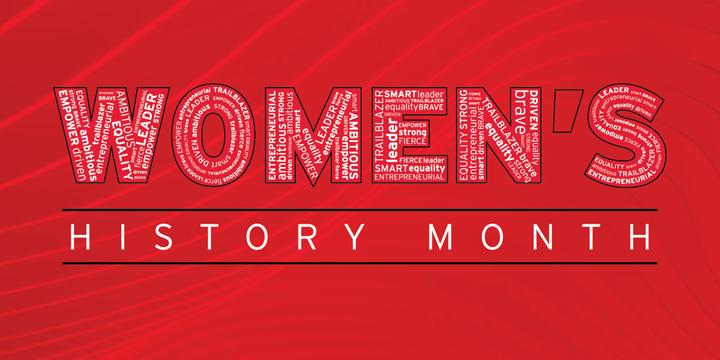 The University of Maryland Alumni Association celebrates Women's History Month
