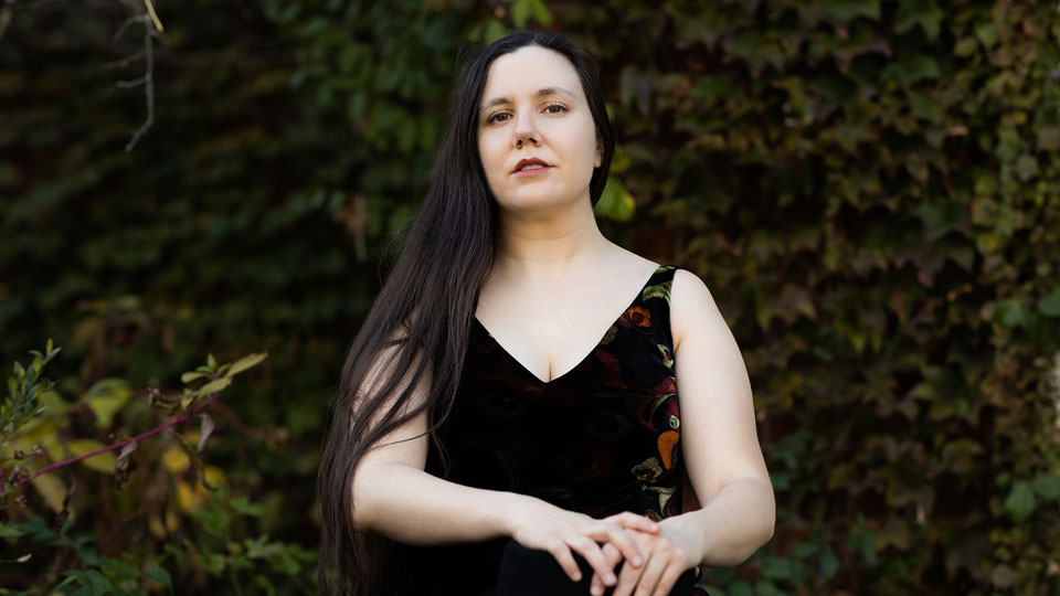 In her new book, White Magic, out today, Elissa Washuta '07 tells the story of how witchcraft served as a way out of drinking - and how the world of the occult has turned trendy. (Photo by Marcus Jackson)