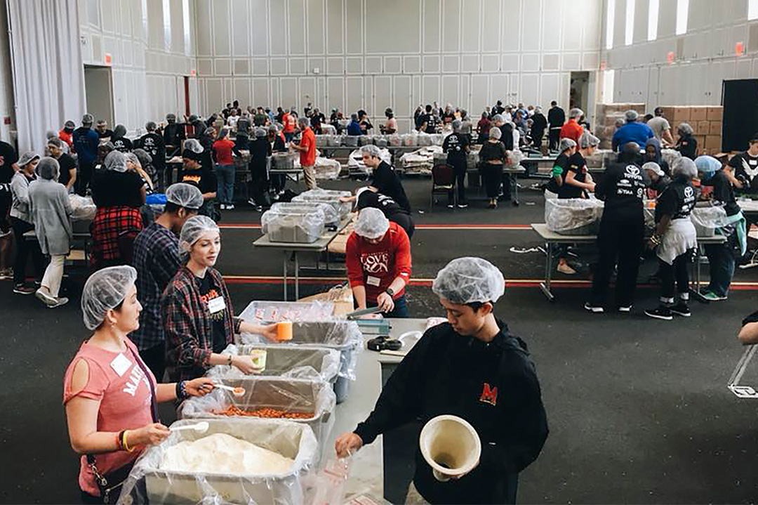 Homecoming Service Event: Terps Against Hunger