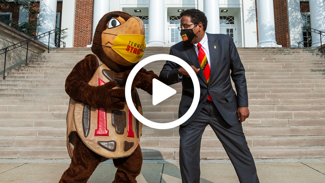 Video: President Darryll J. Pines Welcomes the Community and Celebrates Resuming In-person Experiences